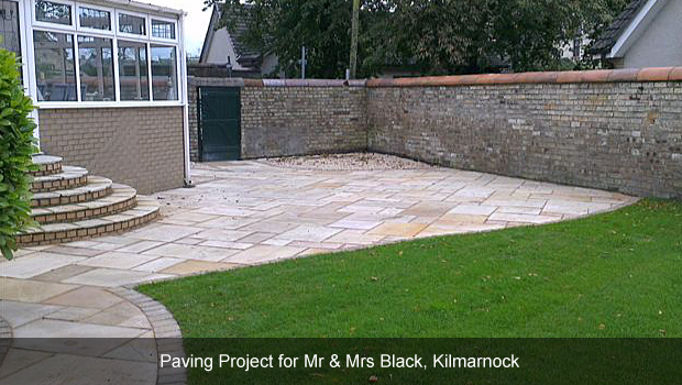 Monoblock driveways ayr tegula driveways ayrshire garden for Garden design glasgow